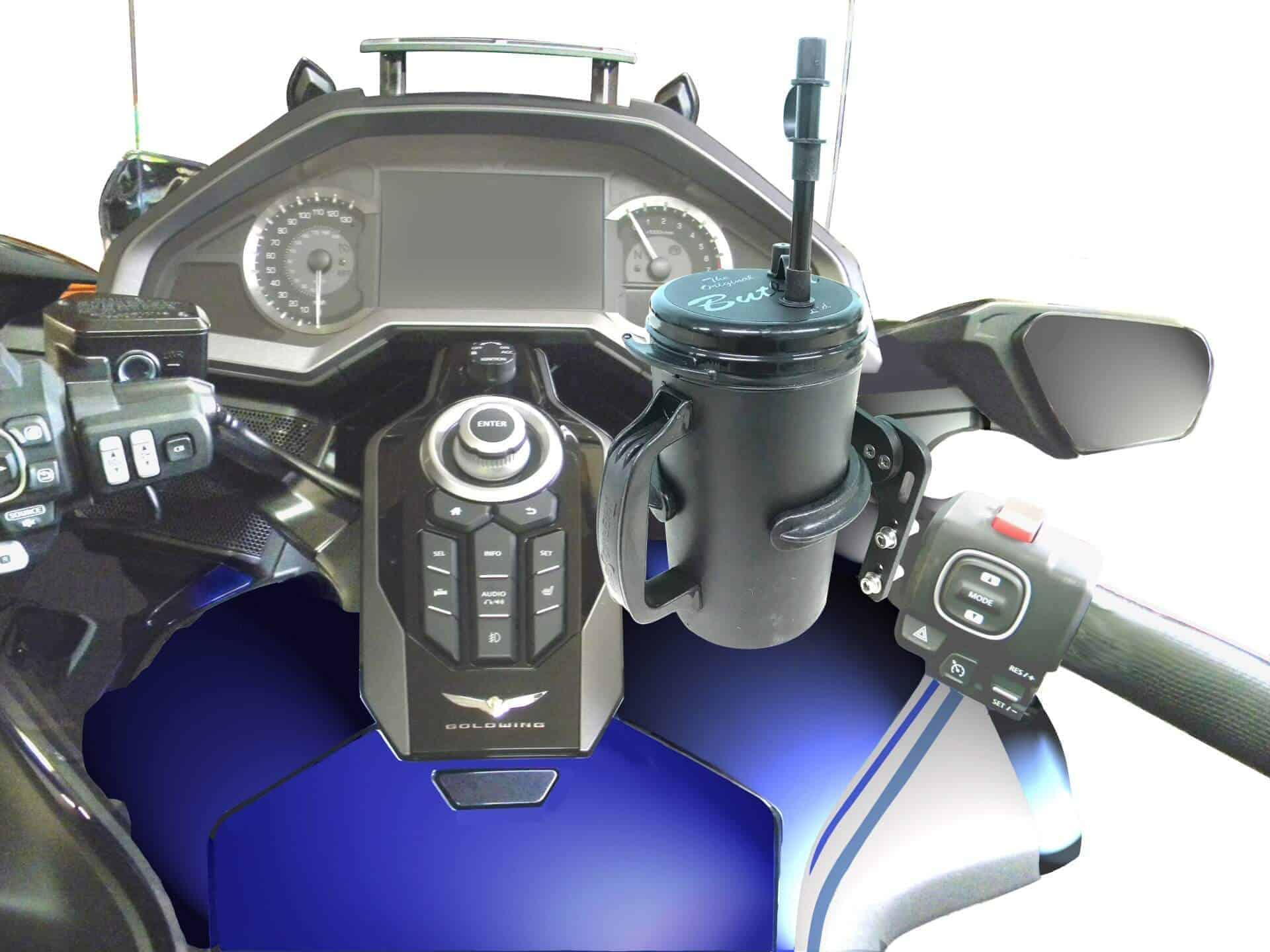 Hybrid Butler Driver Set For Motorcycles Best Drink Holder System